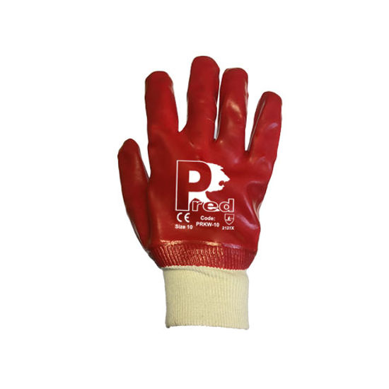 Picture of Pred PVC Glove, Red Size:10