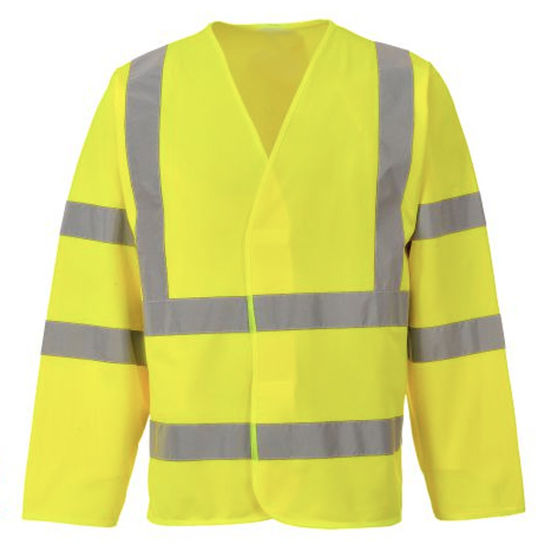 Picture of Hivis Long Sleeve Vest, Yellow