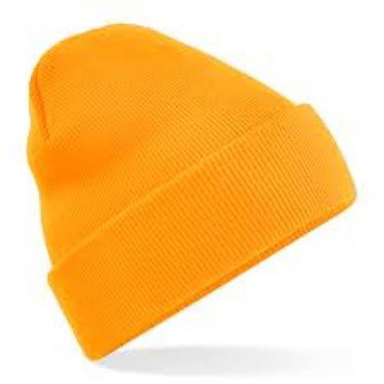 Picture of Knitted beanie Hat, Orange
