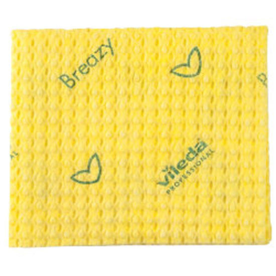 Picture of Vileda Breazy Cloth Pack Of 20 (15) Yellow