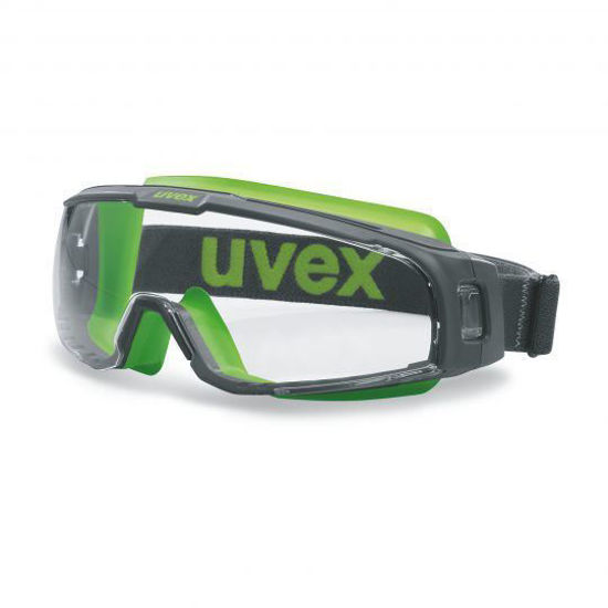 Uvex U-Sonic Wide Vision Goggles, Clear Lens