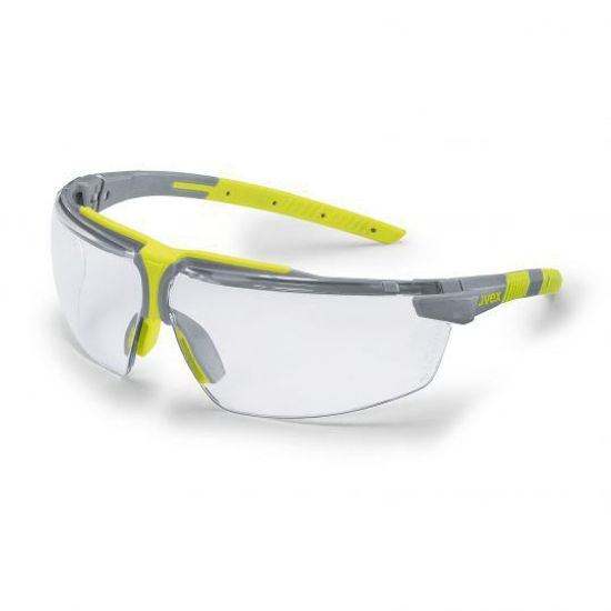 Uvex I-3 Add Grey/Lime, Clear Lens