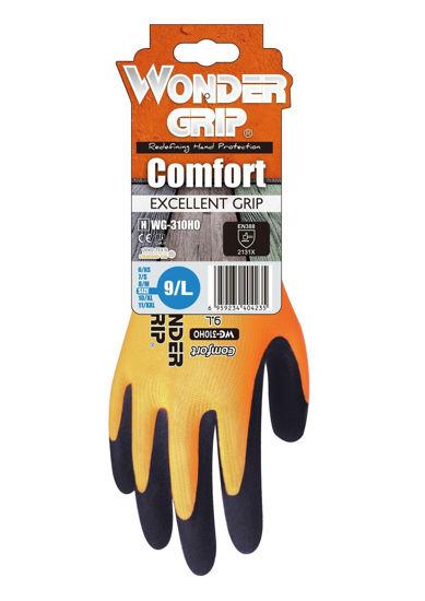 Picture of Wonder Grip Comfort Glove, Orange