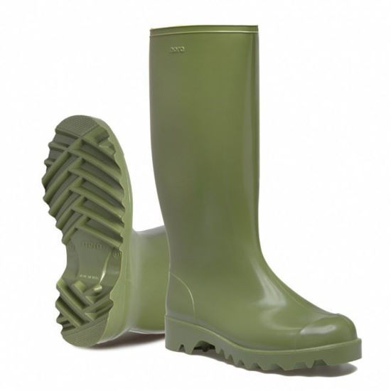 Picture of Nora Dolomit Green Pvc Wellington
