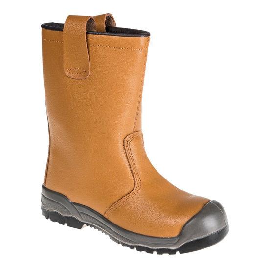 Picture of Steelite Rigger Boot S1P CI (With scuff cap) Tan