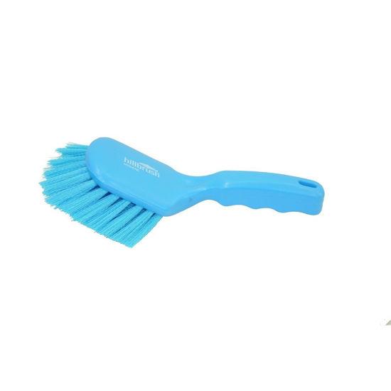 Picture of General Purpose Short Handle Brush Blue