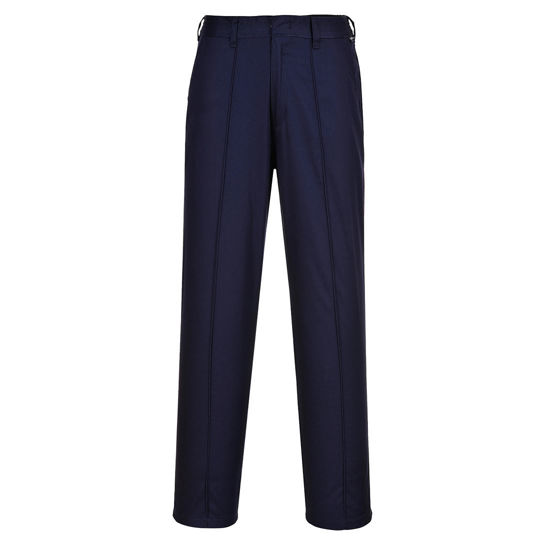 Picture of Portwest Ladies Elasticated Trousers, Navy