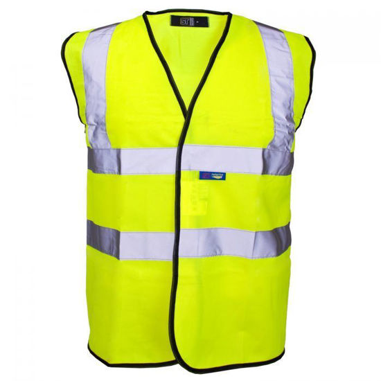 Picture of Supertouch Hivis Velcro Vest, Yellow