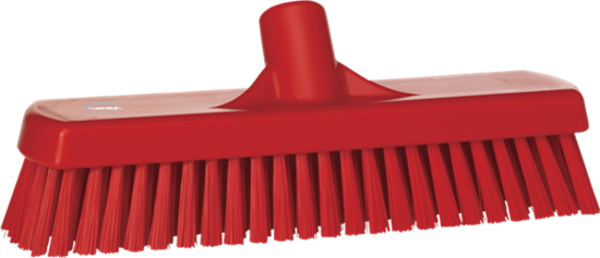 Picture of Vikan Wall-/Floor Washing Brush, 305 mm, Hard, Red