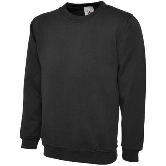 Picture of Uneek Sweatshirt, Black