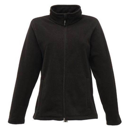 Regatta Ladies Full-Zip Micro Fleece, Black