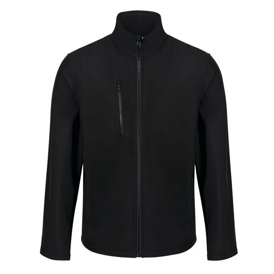 Regatta Ablaze 3 Layer Softshell Jacket,  Black