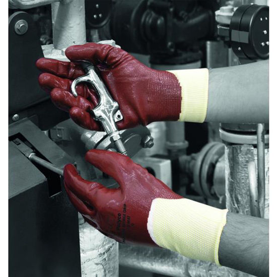 Picture of Polyco Matrix ® Nitrile Grip, Fully Coated, Size: 11