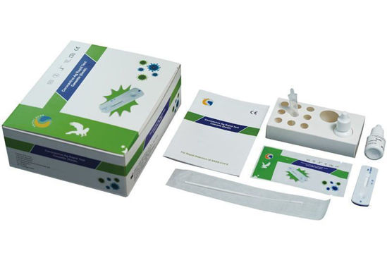 Picture of Healgen Covid-19 Lateral Flow Rapid Antigen Test (Box of 20 tests)
