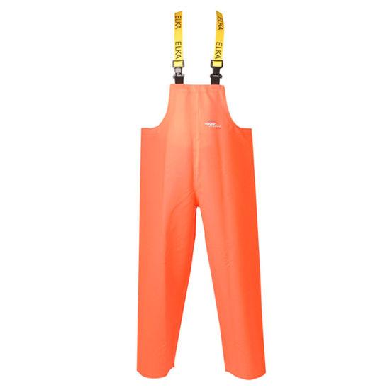 Picture of Elka PVC Bib & Brace, Orange, Size 3XL