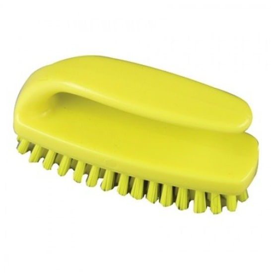 Picture of Professional Medium Grippy Nail Brush, Yellow