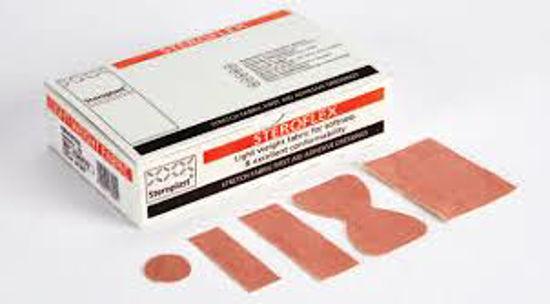 Picture of Premium Elastic Fabric Plasters Assorted, 100/Case
