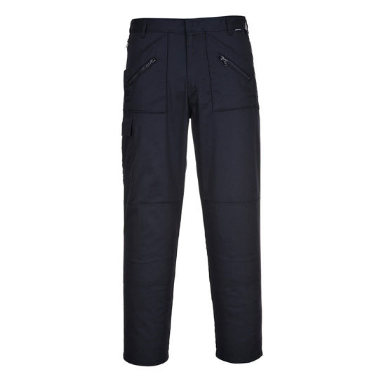 Picture of Portwest Action Trousers, Navy