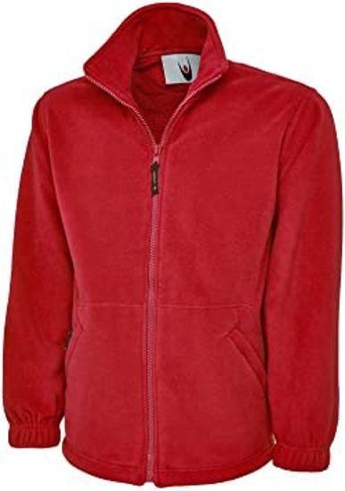 Picture of UNeek Classic Full Zip Micro Fleece Jacket 300G, Red