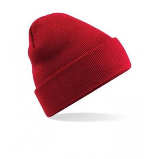 Picture of Knitted Beanie Hat, Red