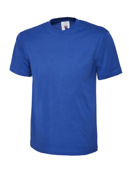 Picture of Uneek Classic T-Shirt, Royal Blue