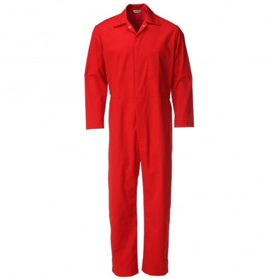Alsico Food Trade Coverall, Red