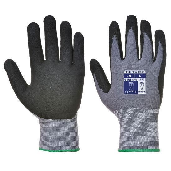 Picture of Portwest DermiFlex Glove, Grey/Black