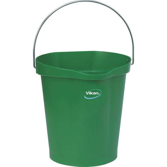 Picture of Vikan Bucket, 12L, Green