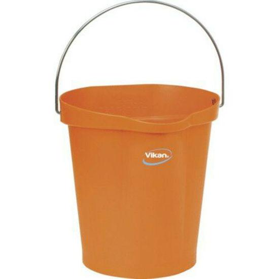 Picture of Vikan Bucket, 12L, Orange