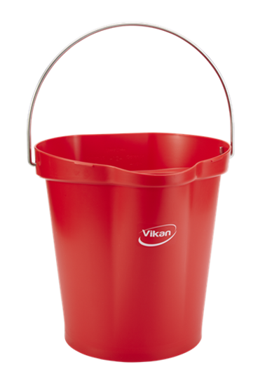 Picture of Vikan Bucket, 12L, Red