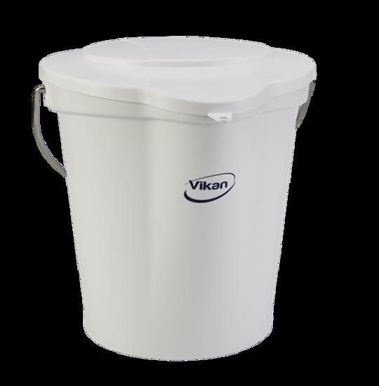 Picture of Vikan Bucket, 12L, White