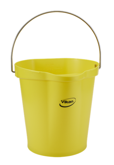 Picture of Vikan Bucket, 12L, Yellow