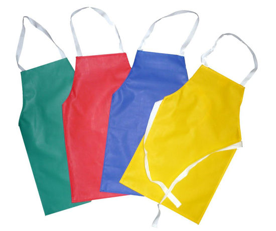Picture of PVC/Nylon Apron, Available in a variety of colours