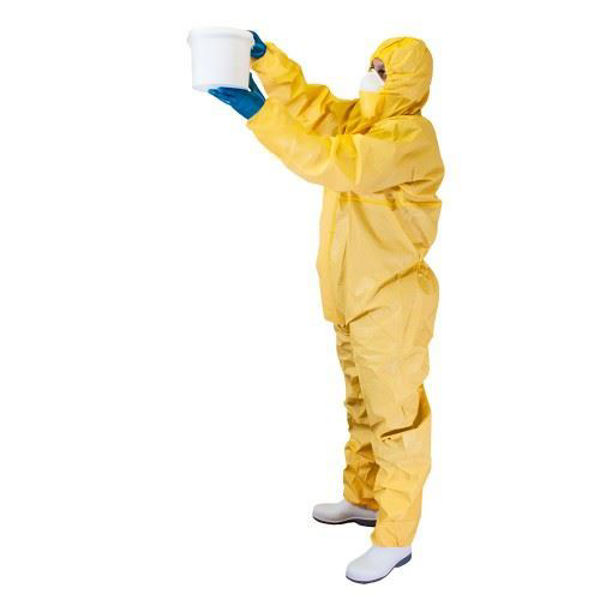 Picture of Chemsplash Jet Spray Intro Type 3B/4B 5B/6B Coverall, Yellow