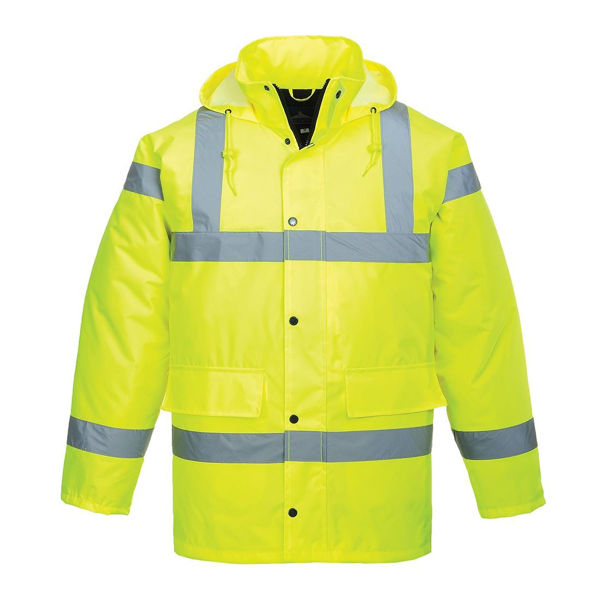 Picture of Hivis Traffic Jacket, Yellow