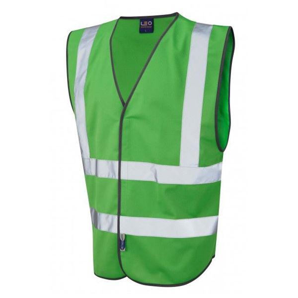 Picture of Pilton Single Colour Hi-Vis Vest, Green