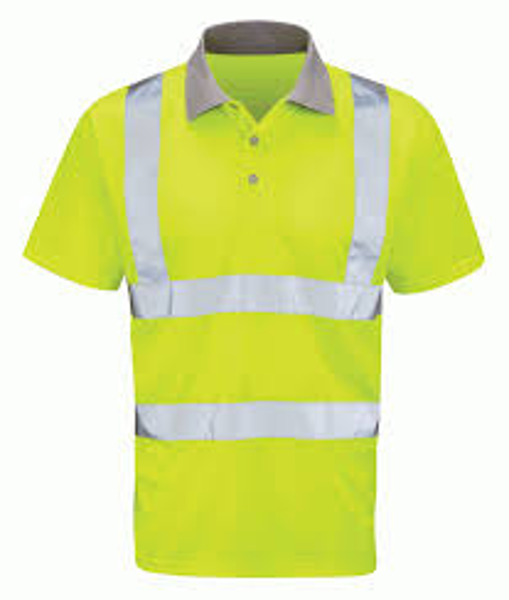 Picture of Mercury HiVis Polo Shirt, Yellow