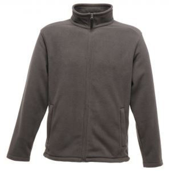 Picture of REGATTA MICRO FLEECE, FULL ZIP, BLACK,SIZE: 4XLARGE