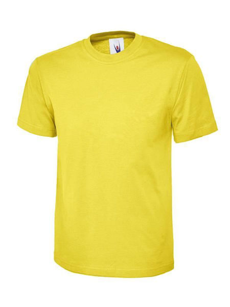 Picture of Uneek Classic T-Shirt, Yellow