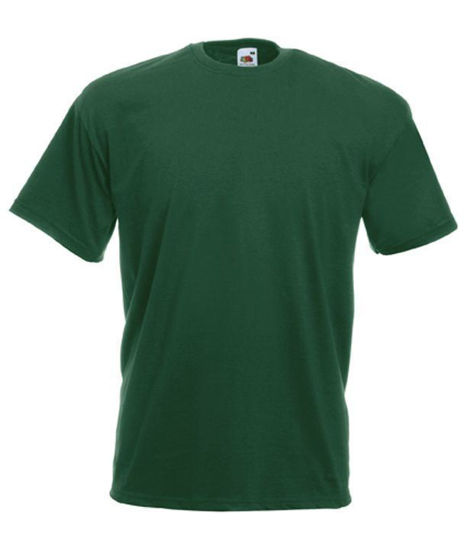 Picture of Fruit Of The Loom T-Shirt, Kelly Green Size:Medium