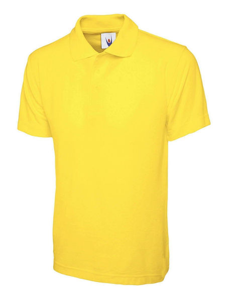 Picture of Uneek Classic Polo Shirt, Yellow