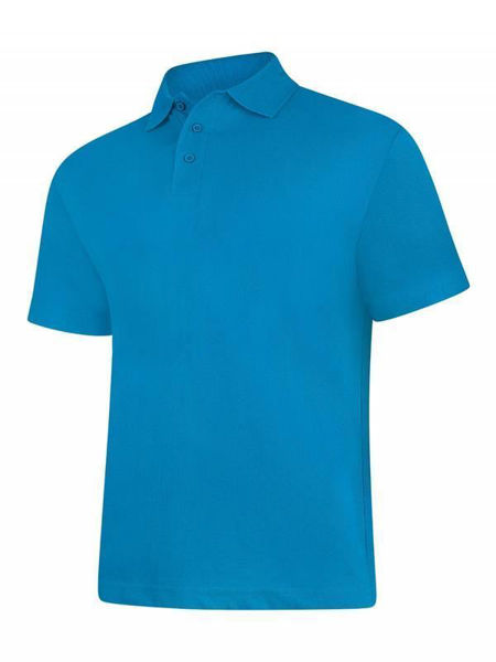 Picture of Uneek Classic Polo Shirt, Sapphire Blue