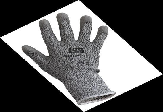 Picture of Bodytech PU Coated Cut 5 Glove, Grey Size: Medium