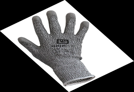 Picture of Bodytech PU Coated Cut 5 Glove, Grey Size: Large