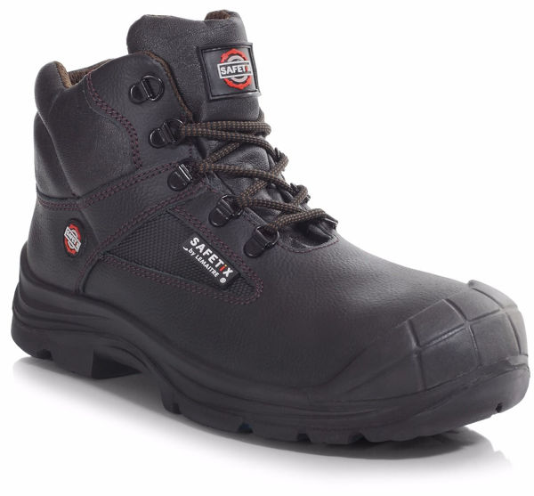 Picture of Scorpius Chukka Laced Black Boot, Scuff Cap, S3 SRC Size: 3