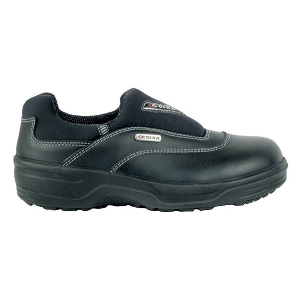 Brenda Ladies S2 Src Safety Shoe, Black