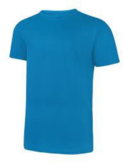 Picture of Uneek Classic T-Shirt, Sapphire Blue