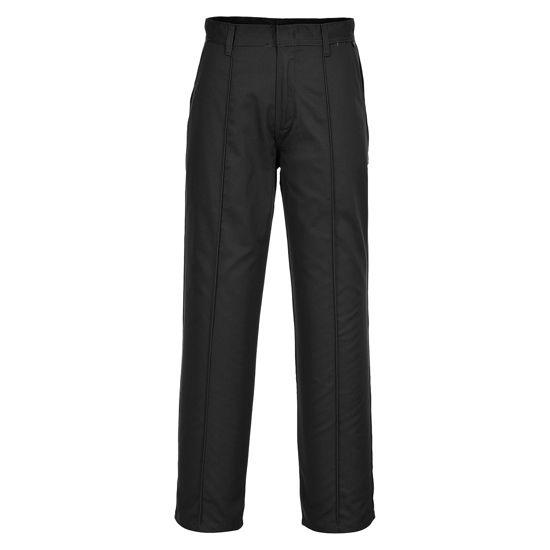 Picture of Portwest Preston Trouser, Black, Size 34R