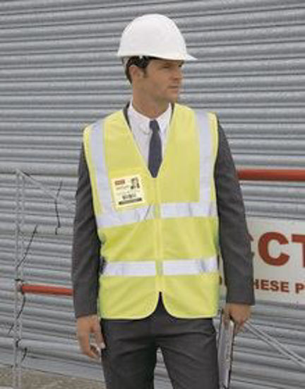 Picture of Result Core Zip Hivis Safety Tabard