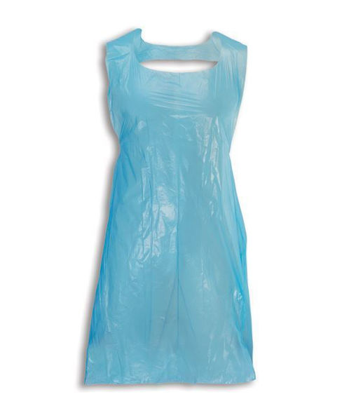Picture of Bodytech Apron, Disposable On a Roll 69x138cm (1000 Case) Blue